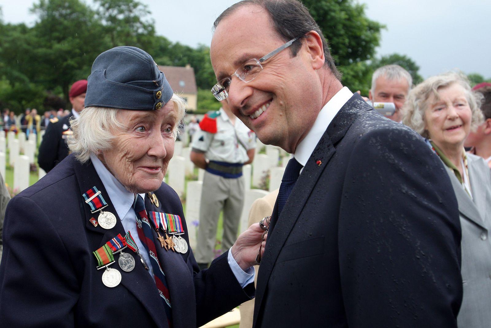 hollande mit veteranin
