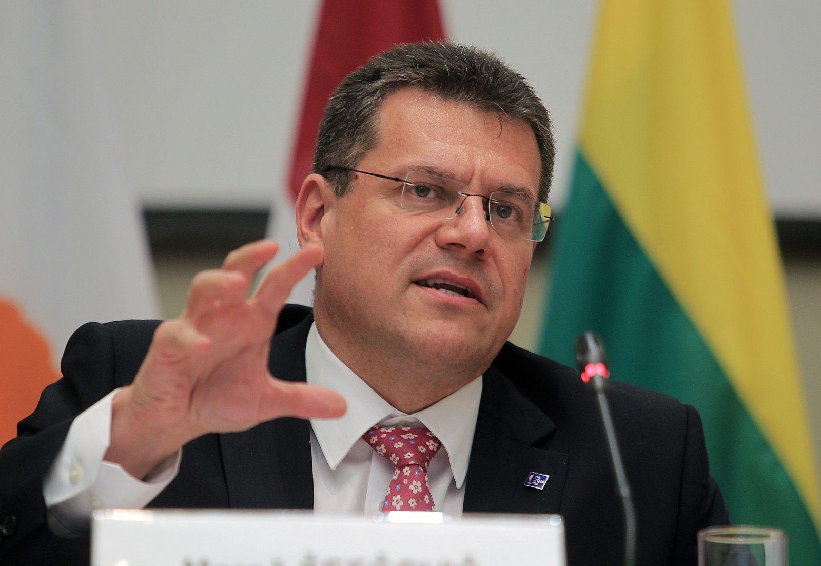 EU-Kommission 2014/ Maros Sefcovic