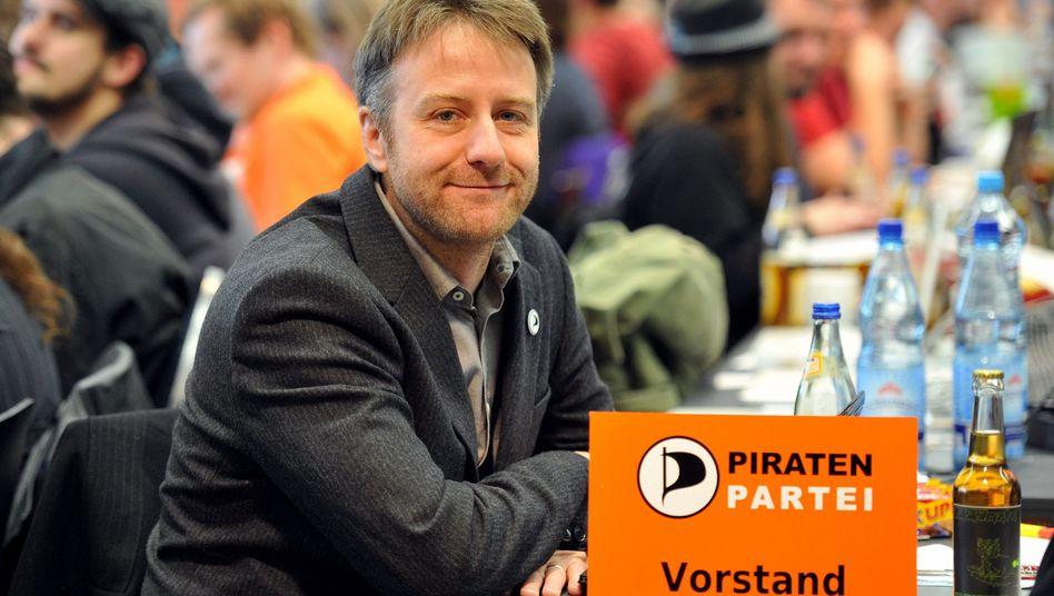 """Piratenpartei-Chef Seipenbusch: """"Bürgerrechte werden immer mehr zur Gnade"""""""