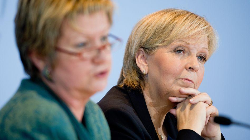"""Koalitionäre Hannelore Kraft, Sylvia Löhrmann: """"Aufgebauschte"""" Debatte um die Zukunft der Hochschulen?"""