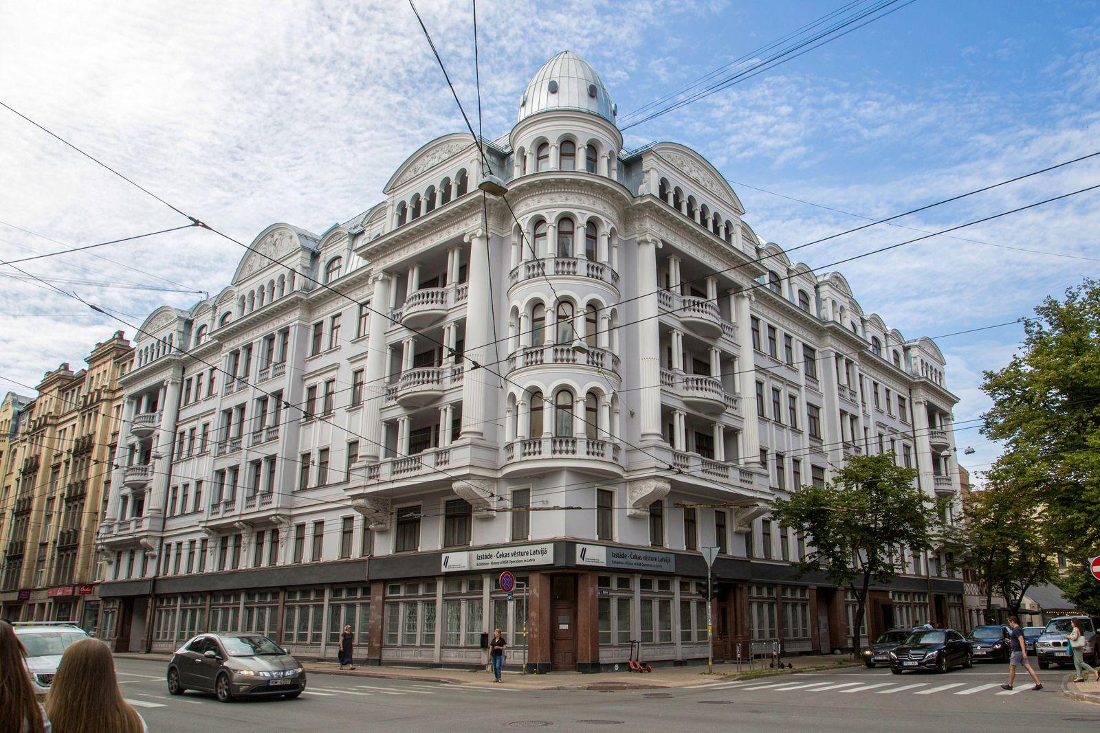 Früheres KGB-Hauptquartier in Lettland wird versteigert