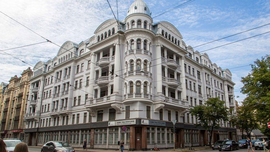 Früheres Hauptquartier des sowjetischen Geheimdienstes KGB in Riga: Startgebot 4,2 Millionen Euro