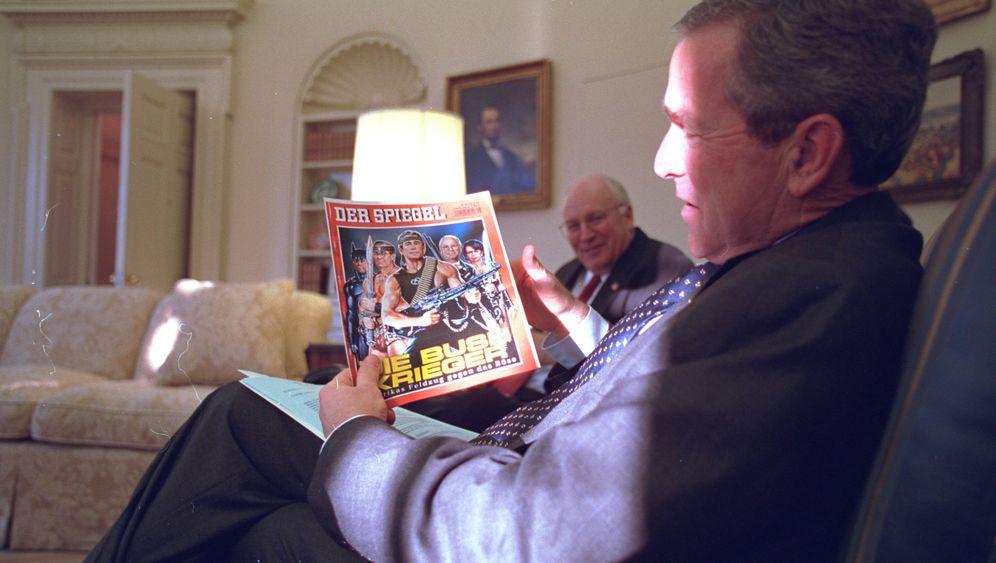 Die Bush-Krieger: Wie George W. Bush über den SPIEGEL lachte