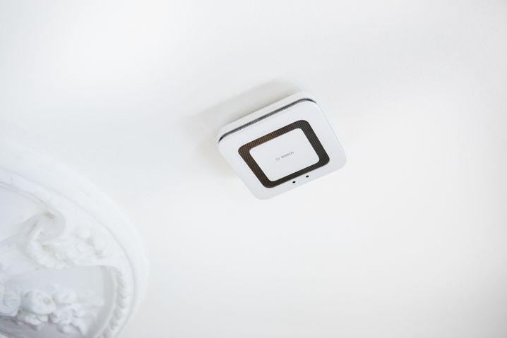 Bosch Rauchmelder sind jetzt auch Luftreinheitsmelder
