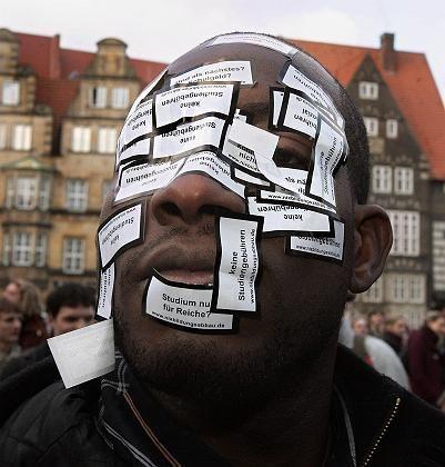 Protest gegen Gebühren (in Bremen): Schweizer Studenten sind das Bezahlen gewohnt