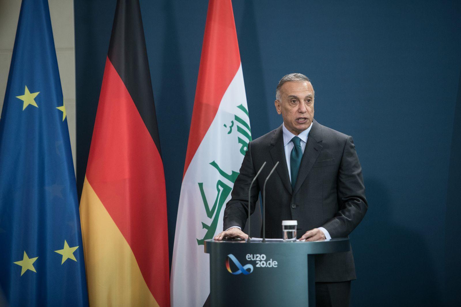 Iraks Ministerpräsident besucht Berlin