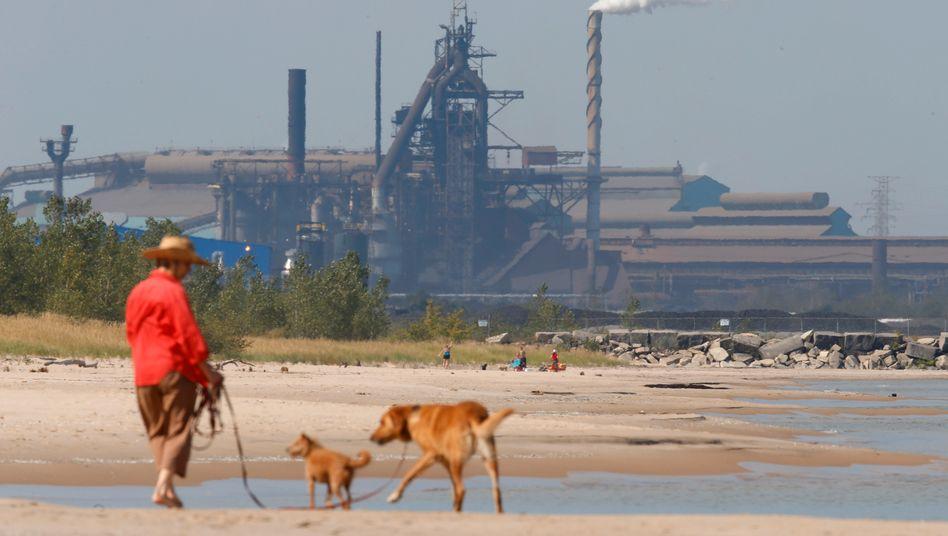 Marquette Park in Gary, Indiana: »Deindustrialisierung und Kapitalflucht«