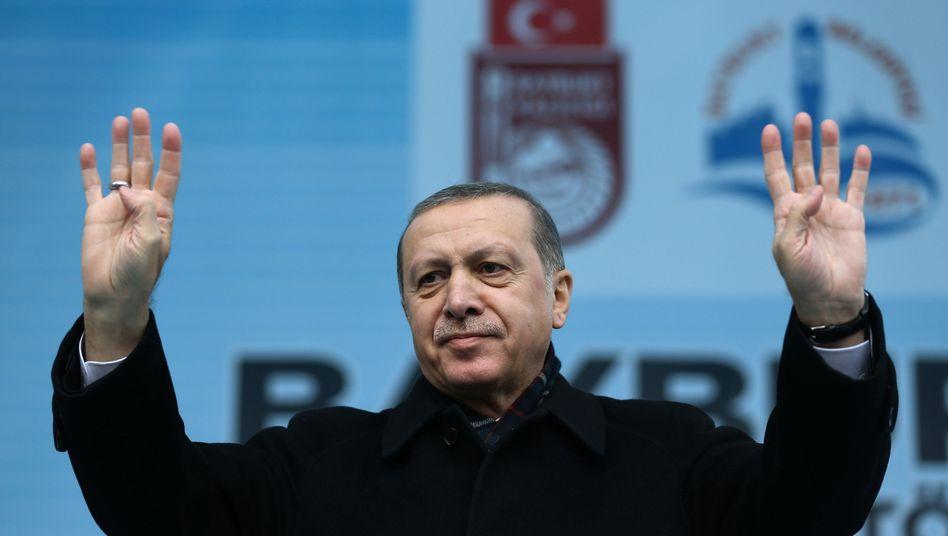 """Staatschef Erdogan: """"Beispiele in der Geschichte"""""""