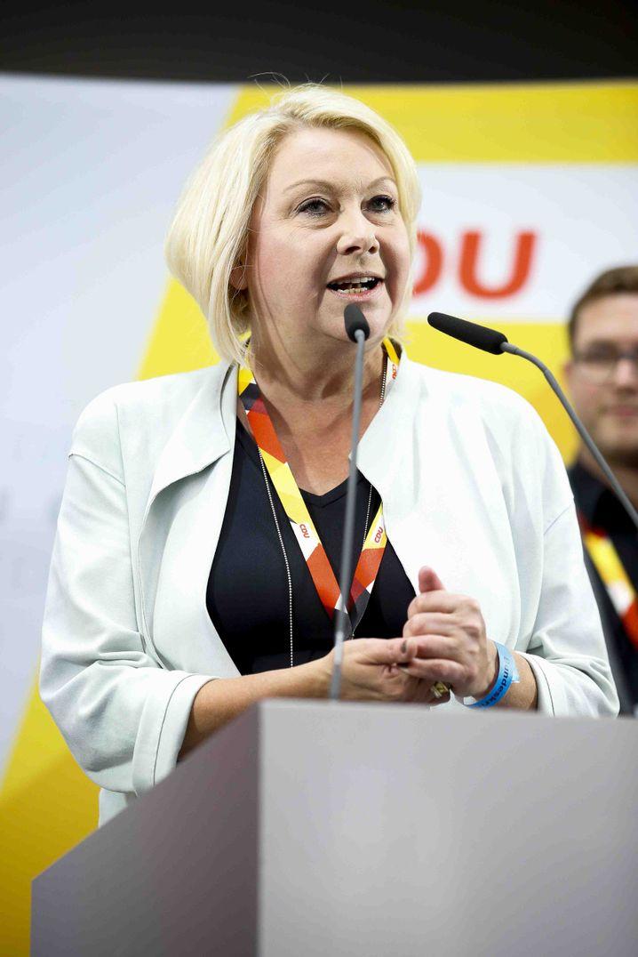 CDU-Politikerin Strenz