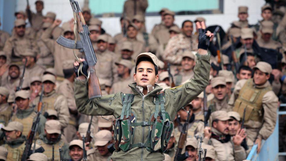 Kurdische Kämpfer in Syrien