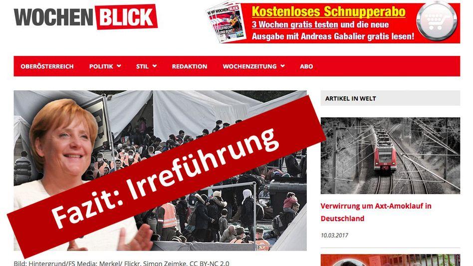 "Screenshot ""Wochenblick"""