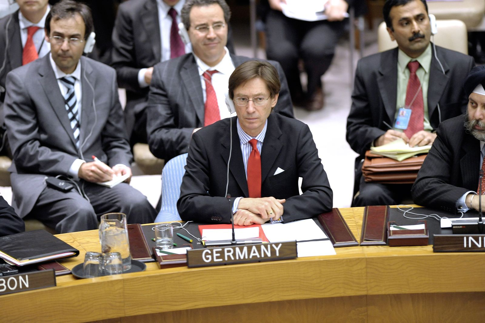 Germany Security Council vote