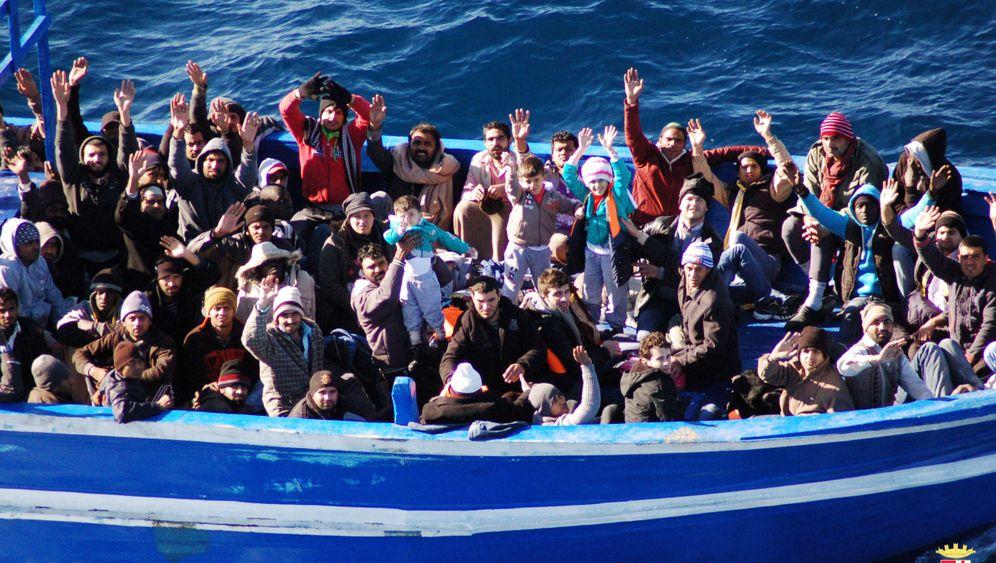 "Flüchtlinge auf dem Mittelmeer: Italiens Operation ""Mare nostrum"""