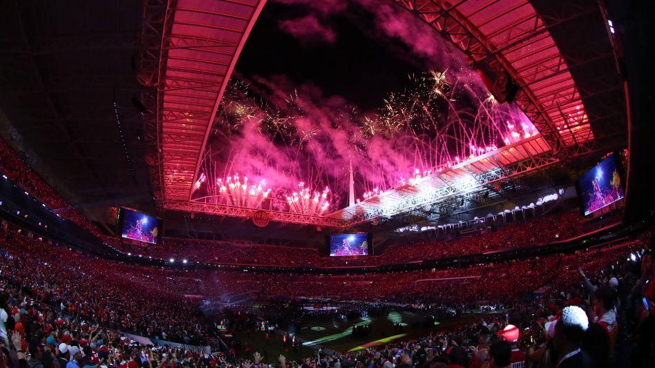 Der Super Bowl 2020 fand in Miami statt - noch bevor die Corona-Pandemie die USA erreichte