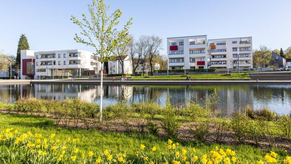 Neues Wohnviertel in Essen-Altendorf