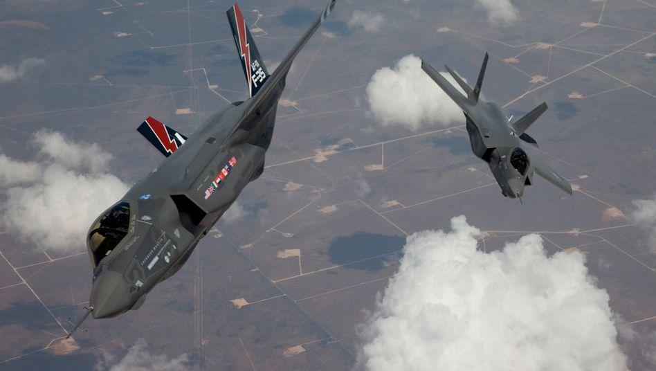 F-35-Kampjets in Kalifornien: 2019 gab Amerika so viel aus wie die nächsten zehn Staaten zusammen