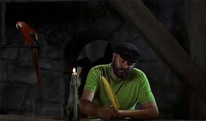 """Rosalinda und Efraim Langstrumpf in """"Pippi in Taka-Tuka-Land"""" (Filmstill)"""