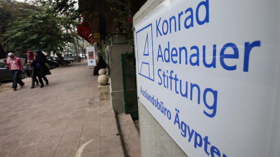 Büro der Konrad-Adenauer Stiftung in Kairo: Hartes Urteil