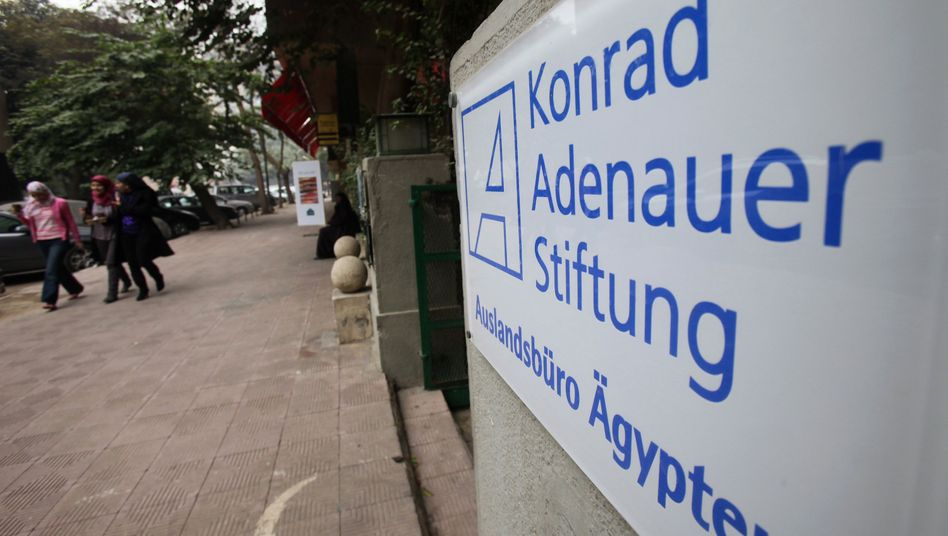 The office of Germany's Konrad Adenauer Foundation in Cairo has been shut down by the transitional government.