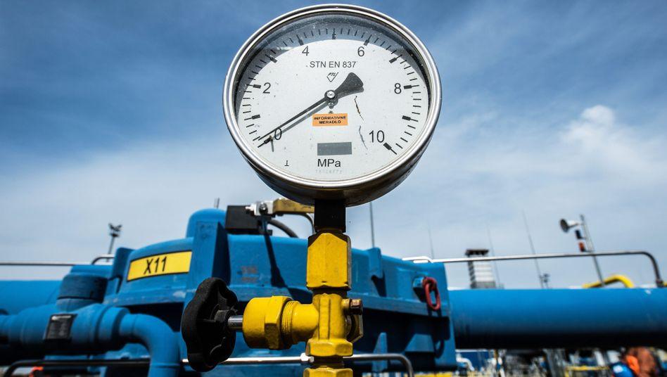 Gaspipeline durch die Ukraine nach Westeuropa (Archivfoto)