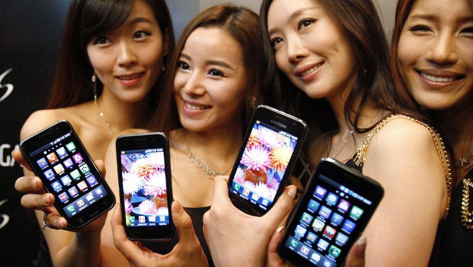 Präsentation von Samsungs Galaxy S: Südkorea