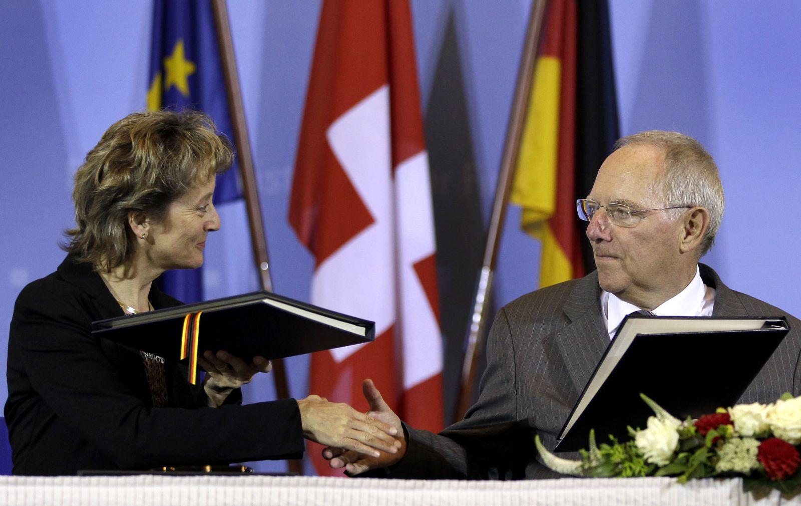 Schäuble Steuer Schweiz