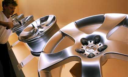 Leichtmetallräder: Mehr Glamour im Radhaus