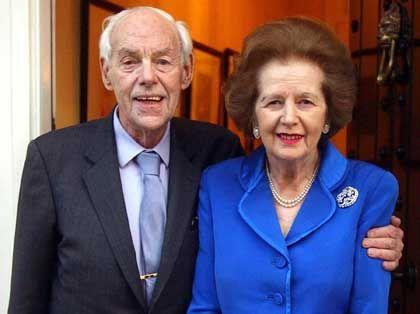 """Denis Thatcher und Frau: Er nannte sie den """"Boss"""""""