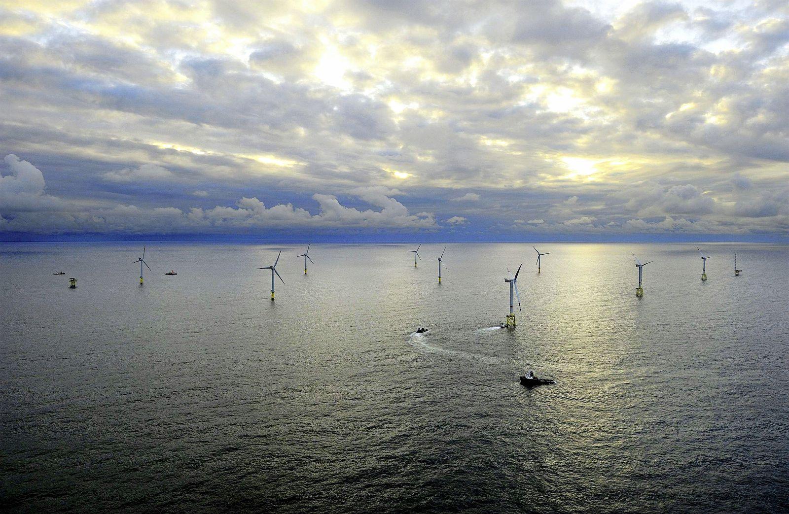 NICHT VERWENDEN Offshore-Windpark Alpha Ventus