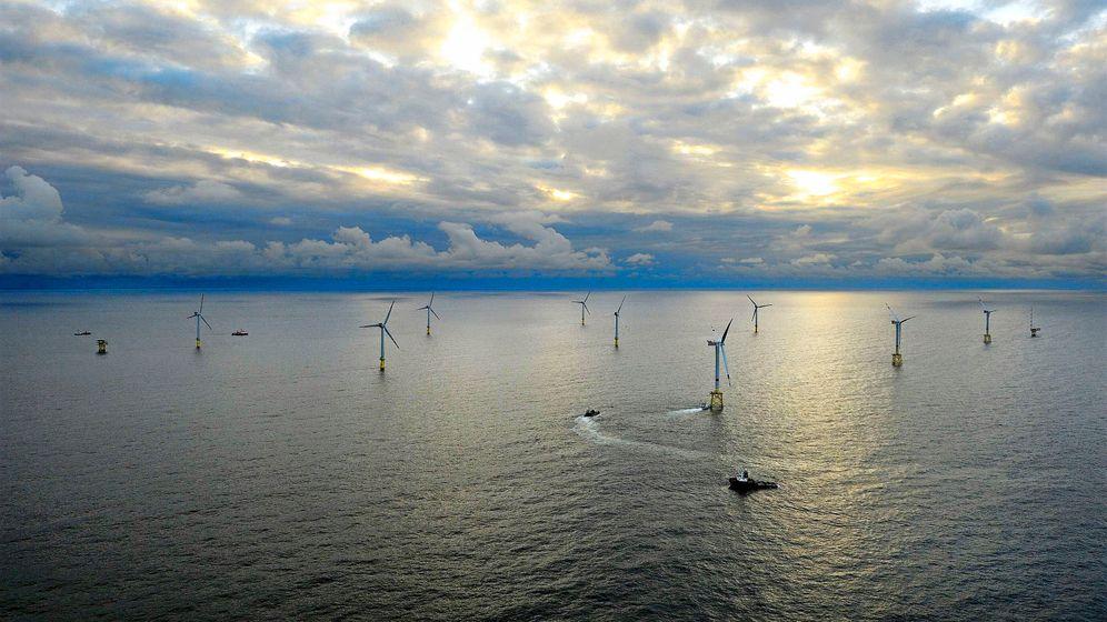 Fotostrecke: Offshore Windpark Alpha Ventus