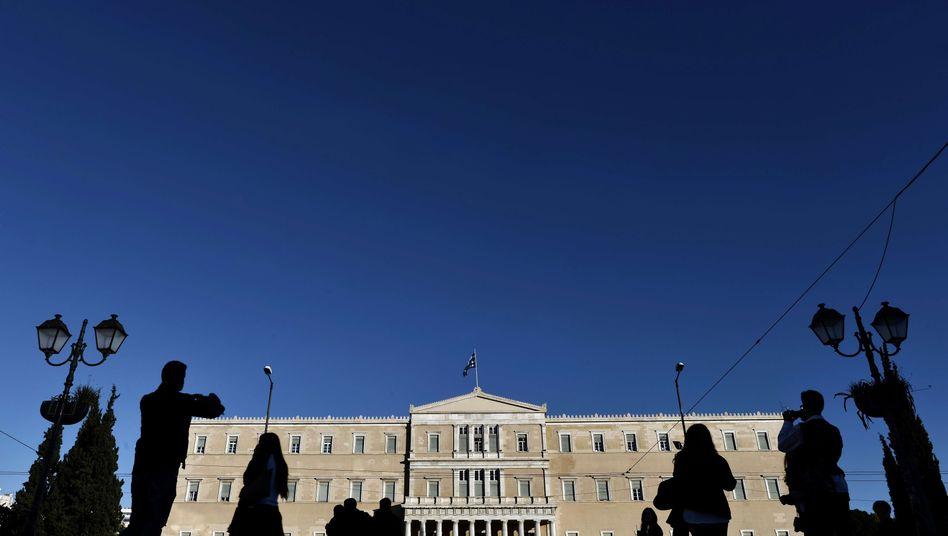 """Griechisches Parlament in Athen: """"Grexit"""" - na und?"""