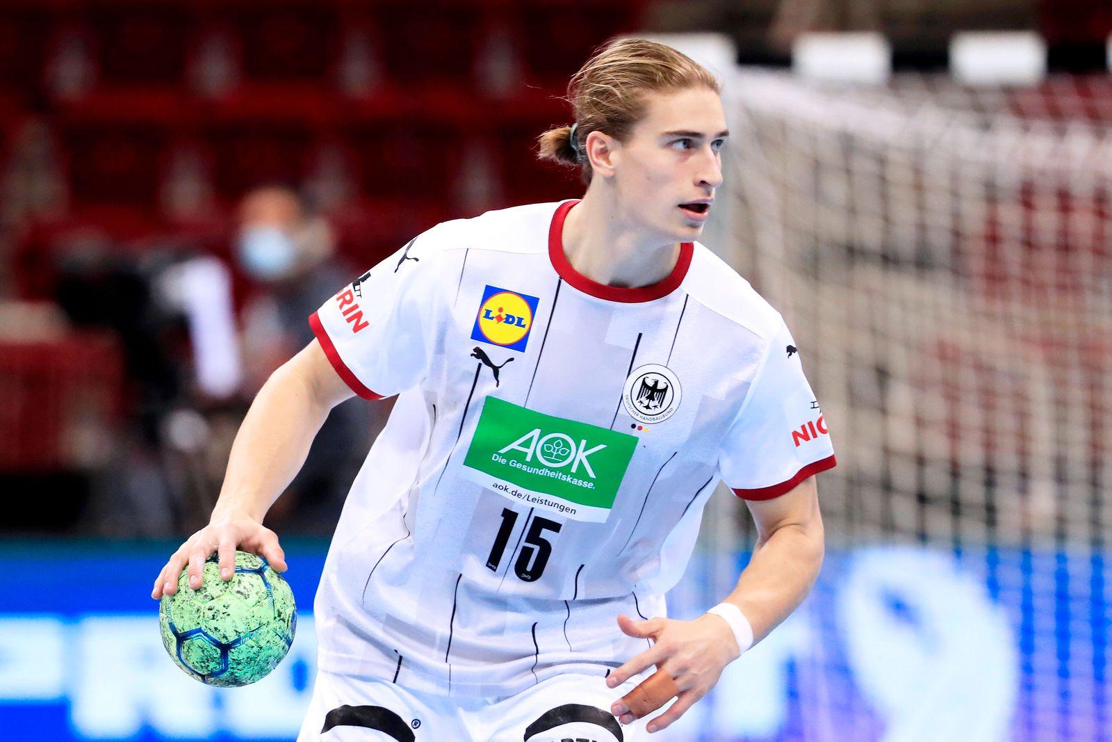 KNORR Juri Team Deutschland EHF Handball EM Qualifikation Spiel Deutschland - Bosnien Herzegovina am 05.November 2020 in
