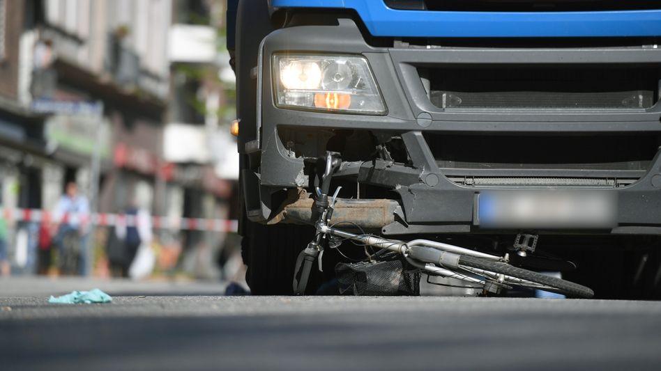 Fahrradfahrer leben in Deutschland zunehmend gefährlich