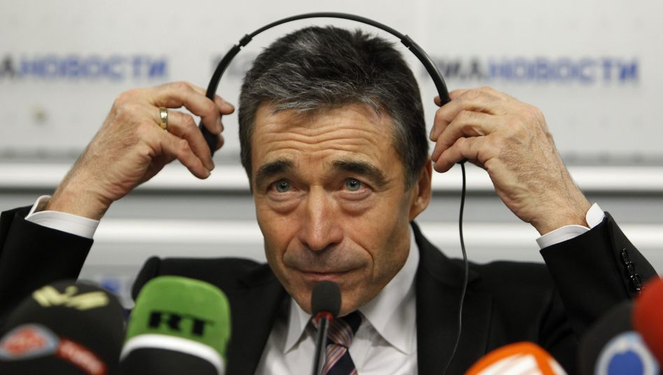 NATO Secretary General Anders Fogh Rasmussen, in Moscow on Wednesday, has been trying to improve relations between the Western alliance and Russia.
