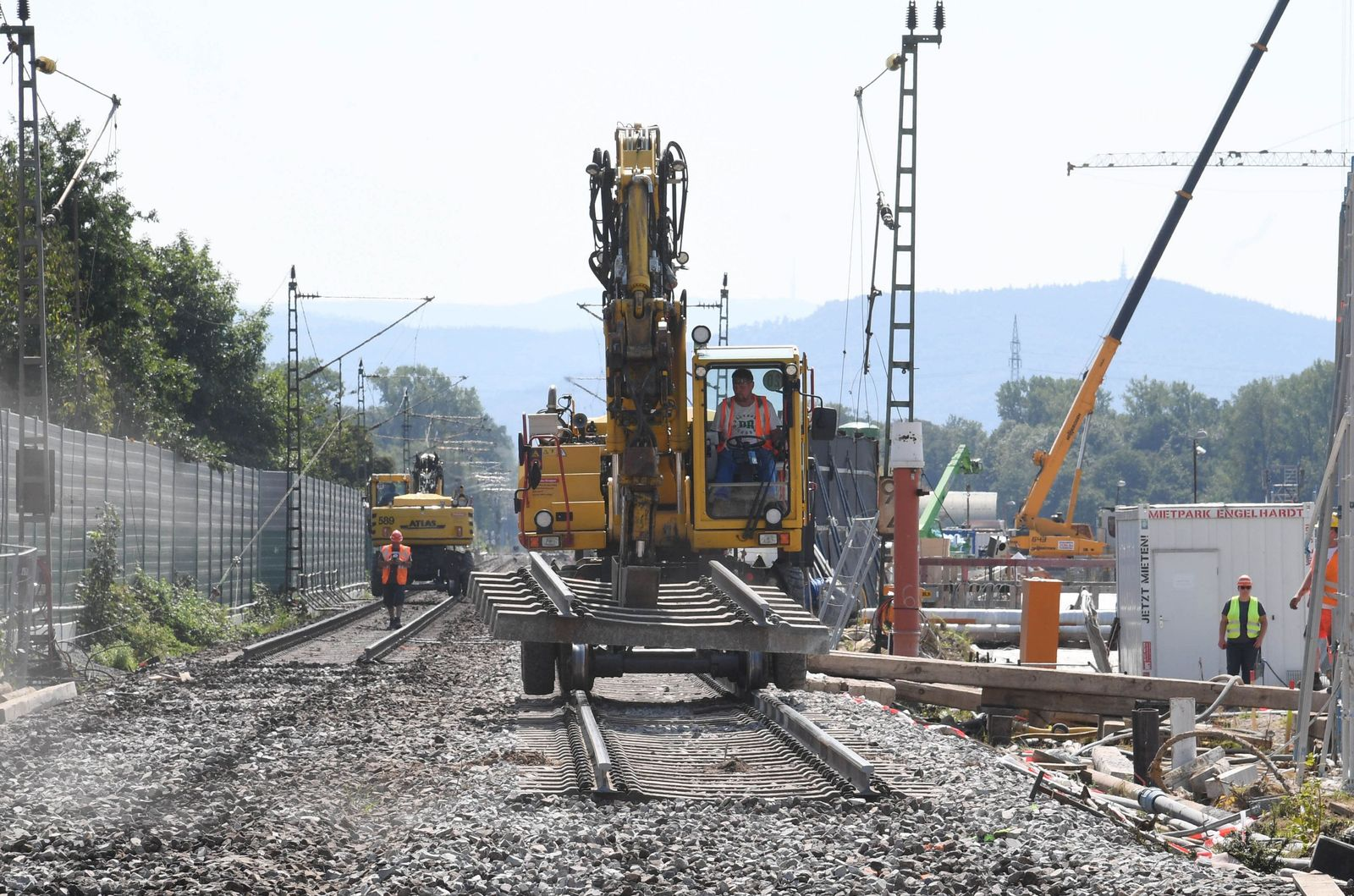 Rheintalbahn / Rastatt