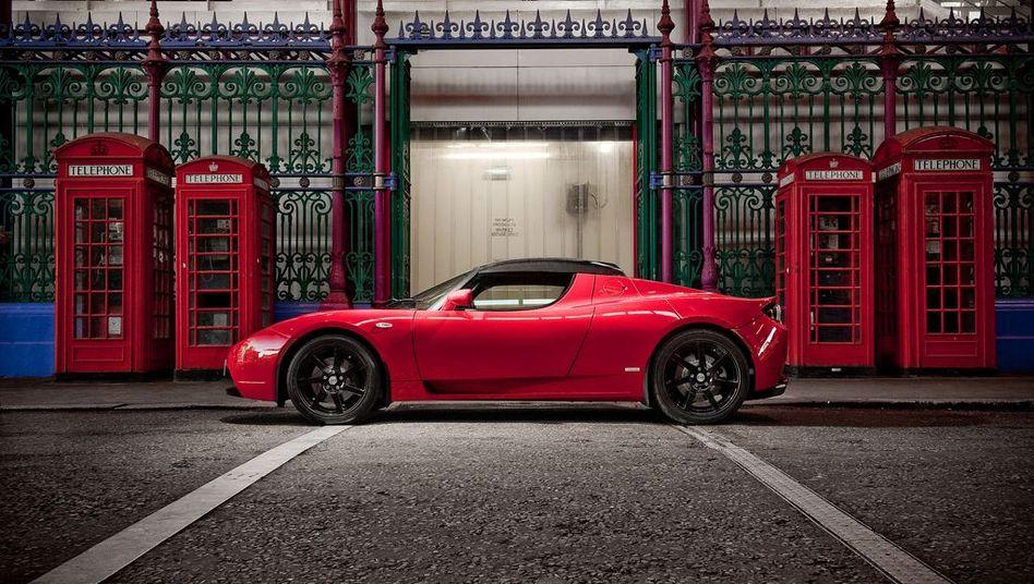Zeigt, wie weit die Elektromobilität gekommen ist: Der Tesla Roadster