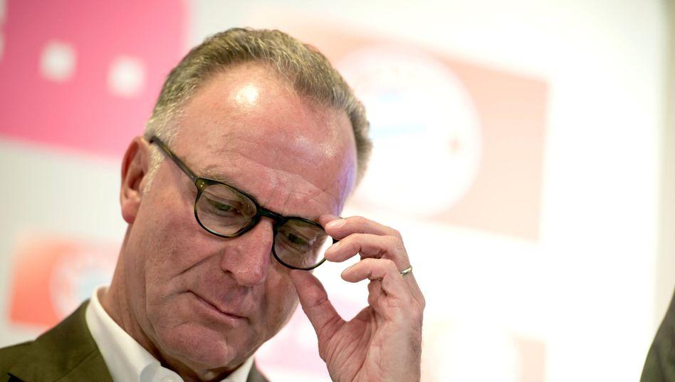 Bayerns Vorstandsvorsitzender Rummenigge: Das Vierfache der Erlöse im Sinn