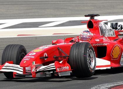 Hoffen auf den Sieg: Michael Schumacher will in Bahrein endlich sein erstes Saisonrennen gewinnen