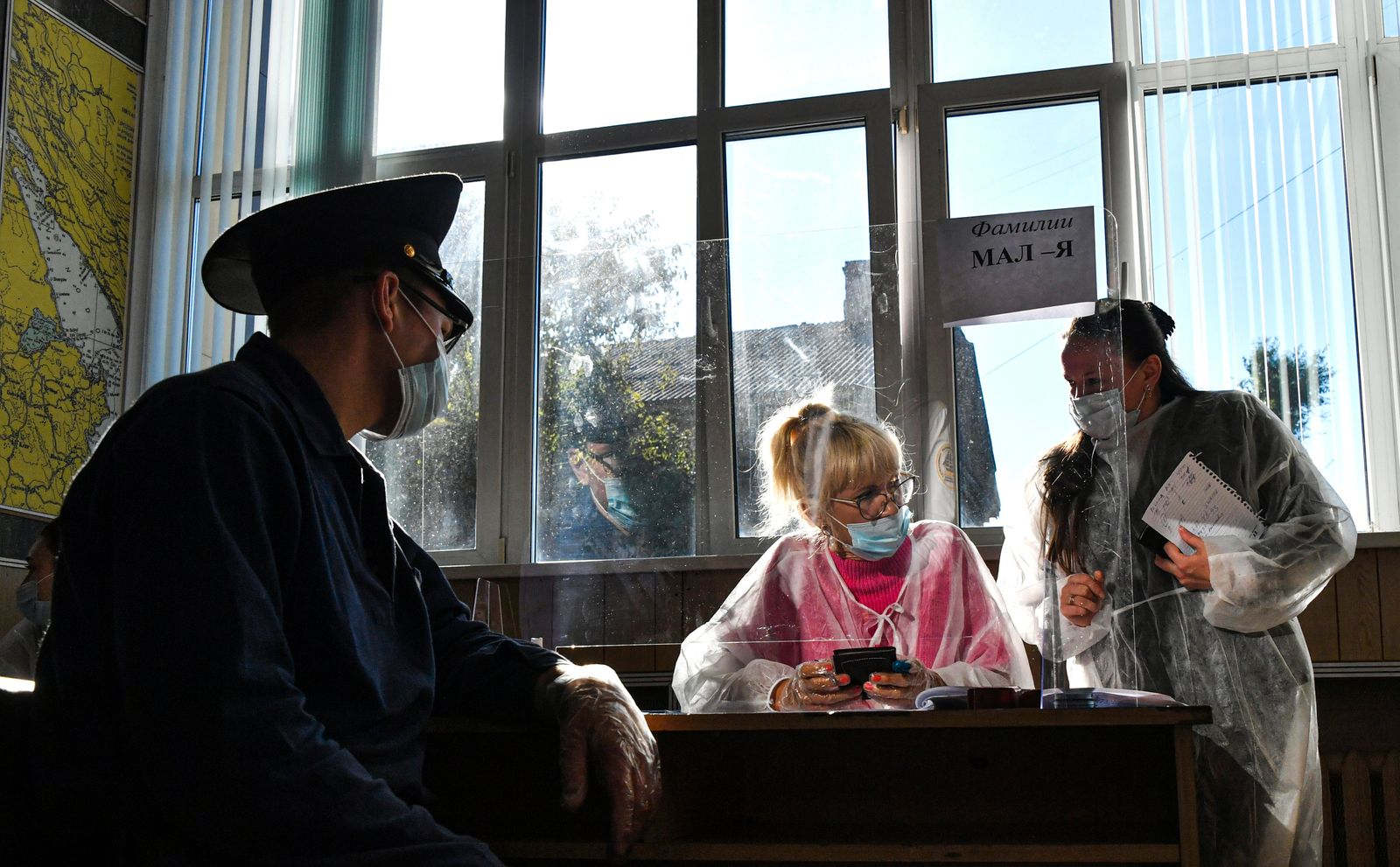 Day 2 of 2021 Russian parliamentary election in Vladivostok