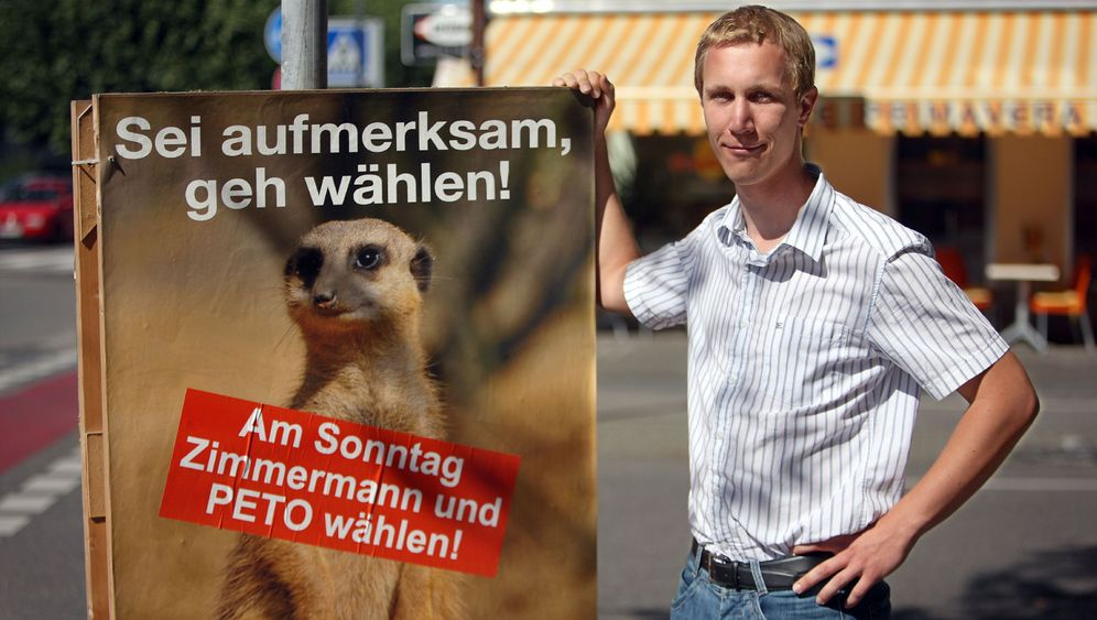 Jungpolitiker: Zimmermann steckt alle an