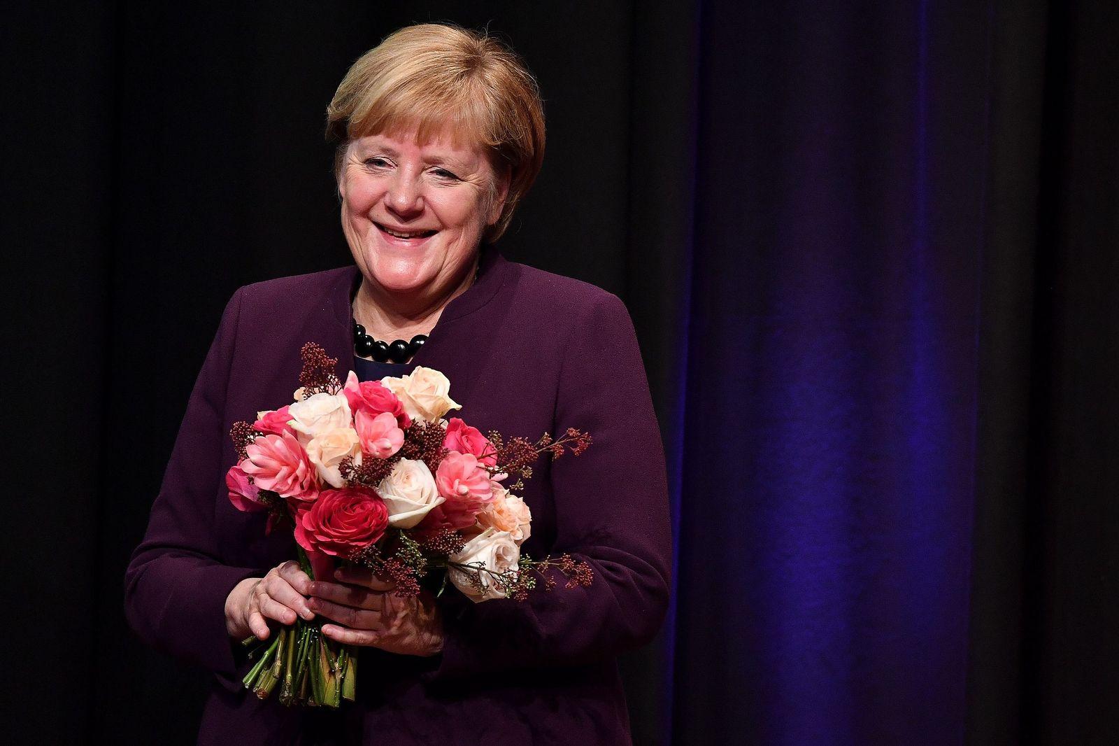 Angela Merkel receives Theodor-Herzl-Prize, Munich, Germany - 28 Oct 2019
