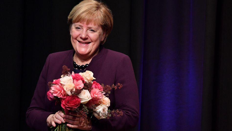 Angela Merkel erhält den Theodor-Herzl-Preis 2019 in München