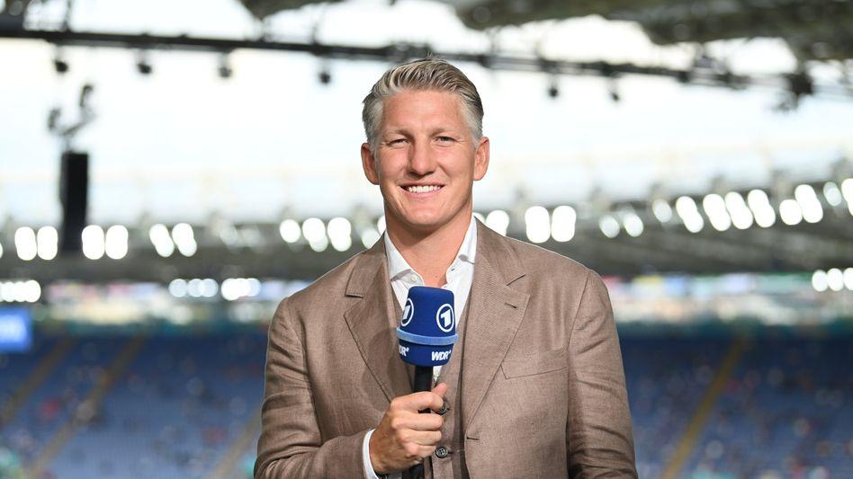 ARD-Fußballexperte Bastian Schweinsteiger