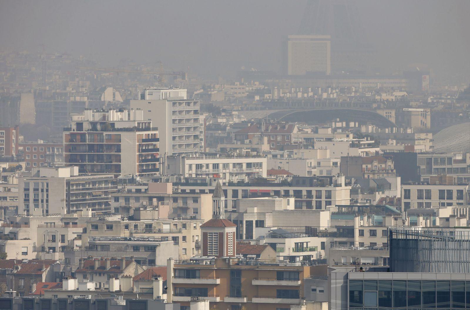 Smog / Paris / Luftverschmutzung