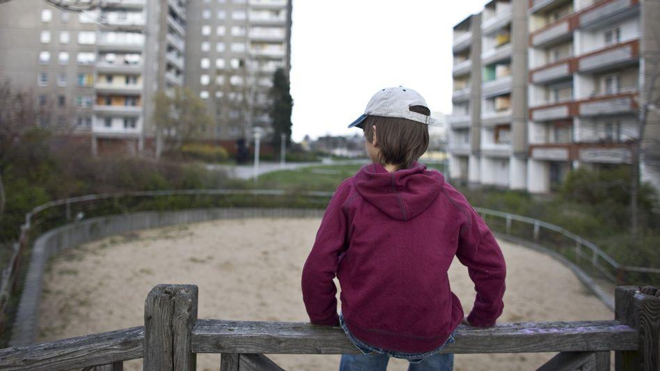"""Junge auf einem Spielplatz: Lediglich ein """"Vertrauensvorschuss"""""""