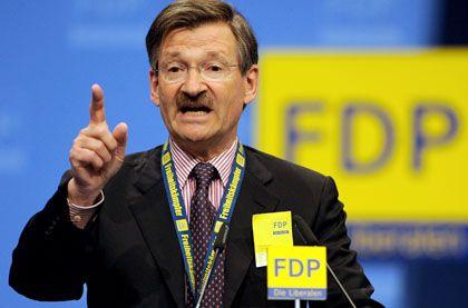 Hermann Otto Solms, finanzpolitischer Sprecher der FDP-Fraktion: Die Liberalen möchten die Abwrackprämie