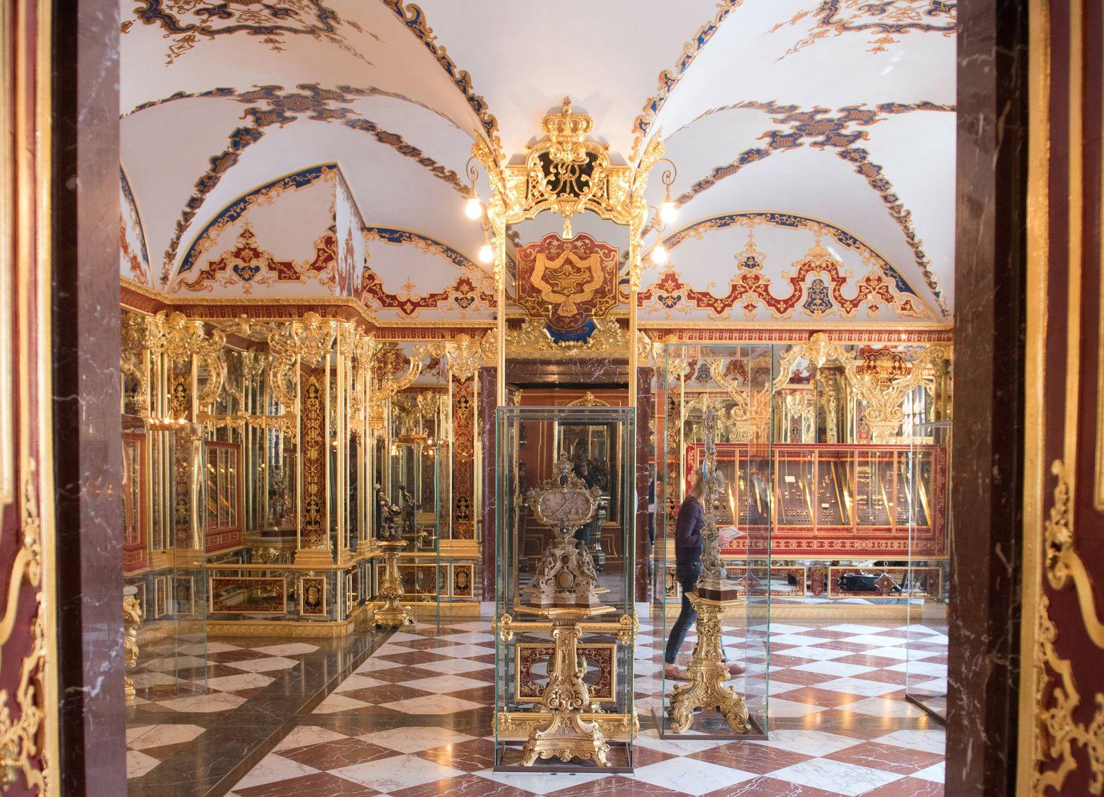 Einbruch Grünes Gewölbe Dresden - Juwelenzimmer