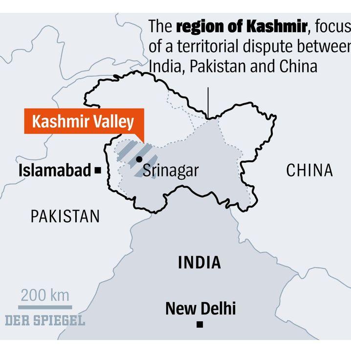 The Kashmir region