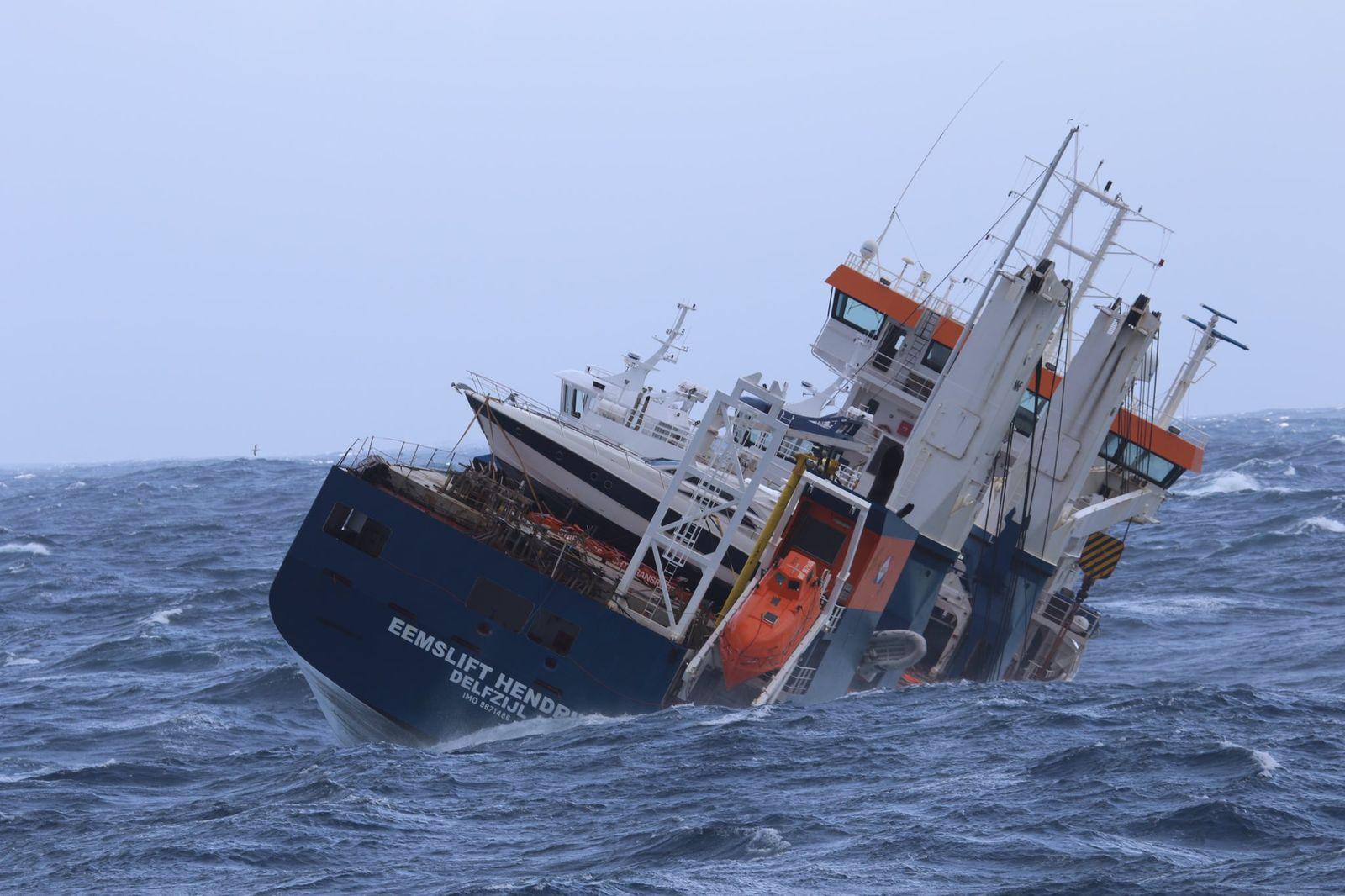 Frachtschiff Eemslift Hendrika