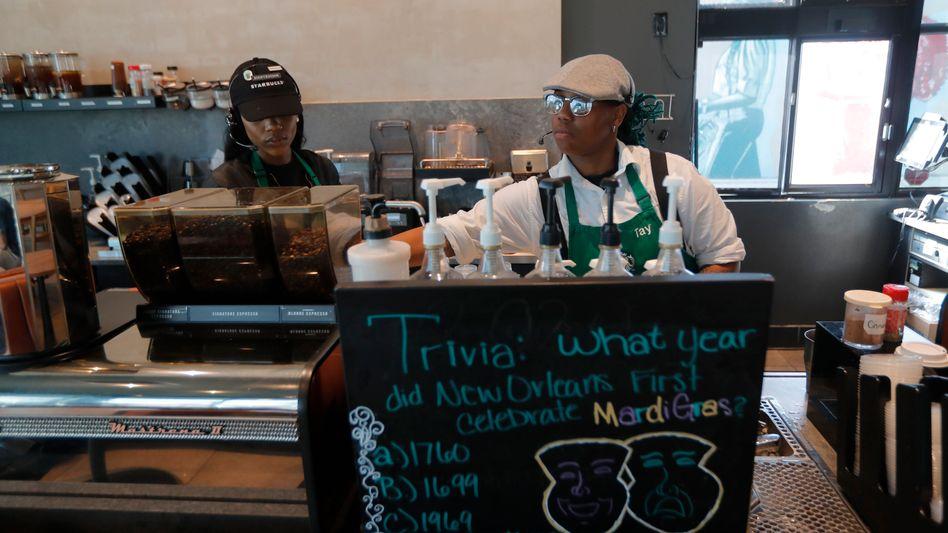 """Starbucks-Mitarbeiter in New Orleans: """"Enttäuschend in einer Weise, die ich nicht mit Worten ausdrücken kann"""""""